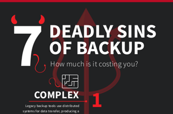 Zerto 7 Deadly Sins of Backup