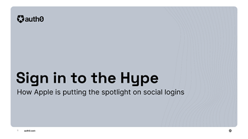 Sign in to the Hype: How Apple is Putting the Spotlight on Social Logins