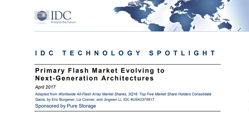 Pure Storage Primary Flash Market Evolving to Next-Generation A