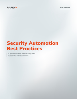 Rapid7 Security Automation: Best Practices