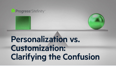 Progress Personalization vs. Customization: Clarifying the Confusion