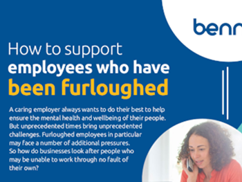 Benni How to Support Employees Who Have Been Furloughed
