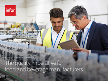 infor The Quality Imperative for Food and Beverage Manufacturers