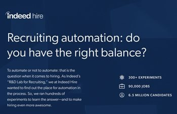 Recruiting Automation: Do You Have the Right Balance?