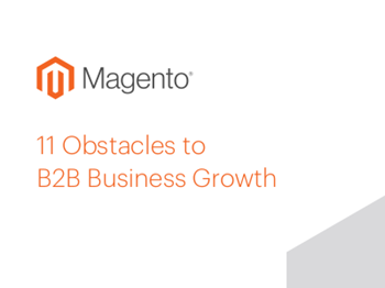 Magento 11 Obstacles to B2B Business Growth