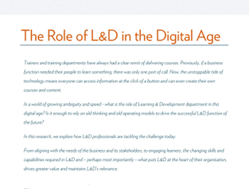360learning The Role of L&D in The Digital Age