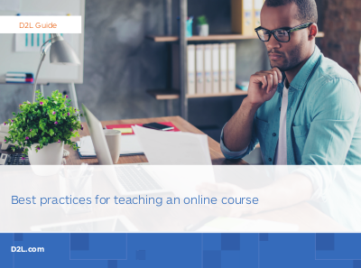 d2l Best Practices for Teaching an Online Course