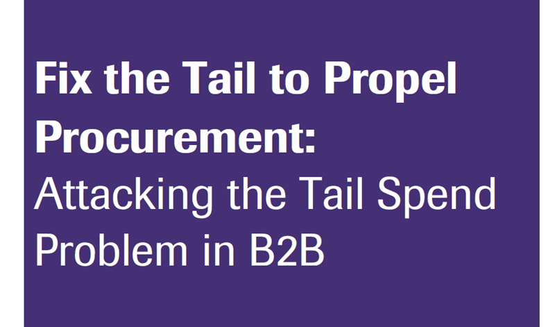 Amazon Business Fix the Tail to Propel Procurement: Attacking the Tail Spend Problem in B2B