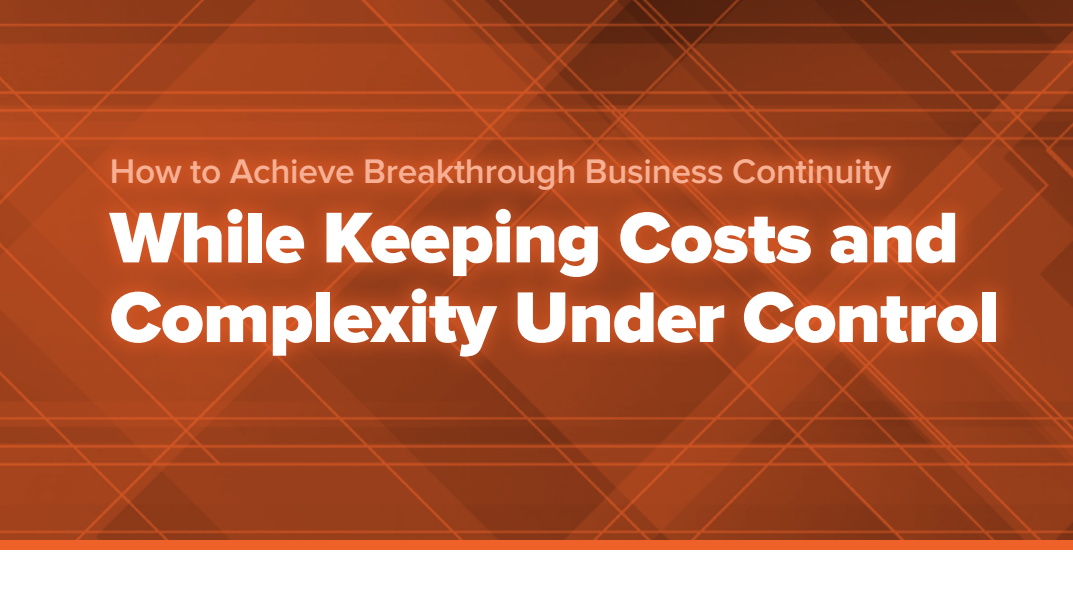 Pure Storage How to Achieve Breakthrough Business Continuity -