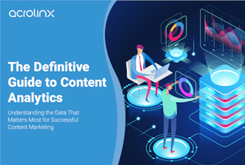 Acrolinx The Definitive Guide to Content Analytics
