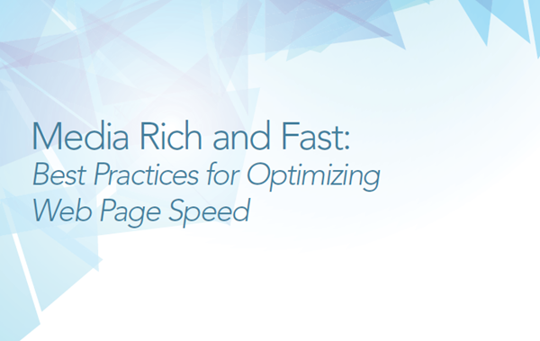 Cloudinary Best Practices for Optimizing Web Page Speed