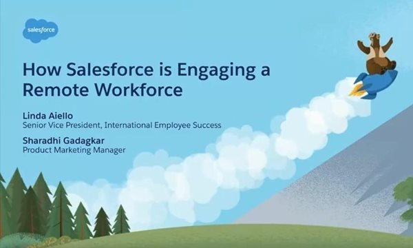 How Salesforce is Engaging a Remote Workforce