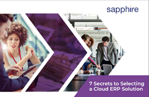 7 Secrets to Selecting a Cloud ERP Solution