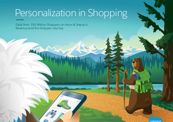 salesforce Personalisation in Shopping