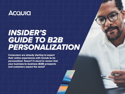 Acquia Insider's Guide to B2B Personalization
