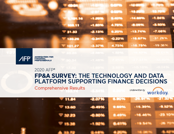 FP&A Survey: The Technology and Data Platform Supporting Finance Decisions