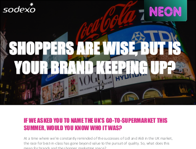 Sodexo Shoppers Are Wise, But Is Your Brand Keeping Up?