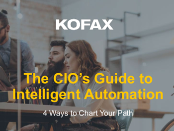 kofax The CIO's Guide to Intelligent Automation