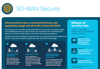 Cisco SD-WAN Security