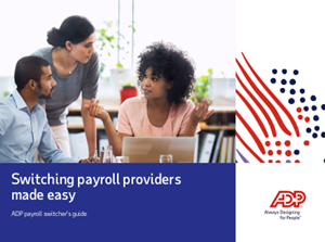 Switching Payroll Providers Made Easy