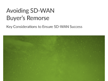 Juniper Networks Avoiding SD-WAN Buyer's Remorse