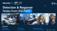 SecurityHQ- Detection and Response: Notes From The Field
