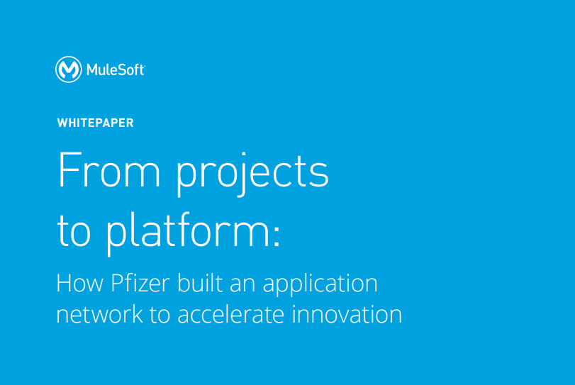 How Pfizer built an application network