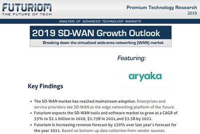 Aryaka 2019 SD-WAN Growth Outlook Report