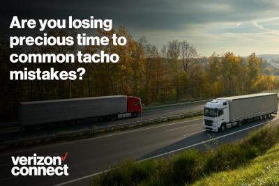 Verizon Connect Are You Losing Precious Time to Common Tachograph Mistakes?