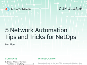 Cumulus 5 Network Automation Tips and Tricks for NetOps