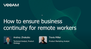 How to ensure business continuity for remote workers