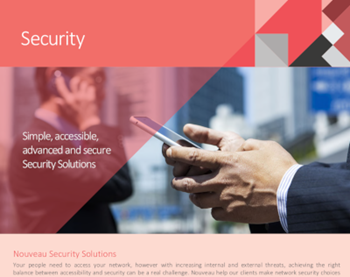 Fortinet Simple, Accessible, Advanced and Secure Security Solutions