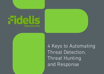 Fidelis Cybersecurity 4 Keys to Automating Threat Detection, Threat Hunting and Response