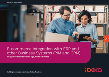 ibexa E-commerce Integration with ERP and other Business Systems (PIM and CRM)