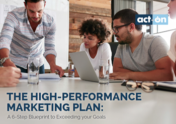 Act-On The High-Performance Marketing Plan