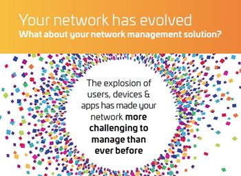 Your network has evolved. What about your network management solution?