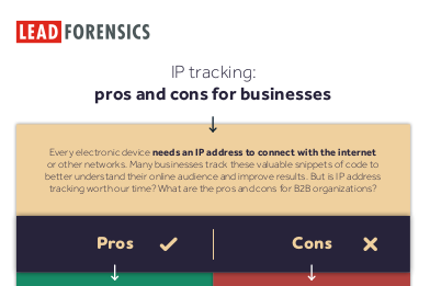 Lead Forensics IP Tracking: Pros and Cons for Business