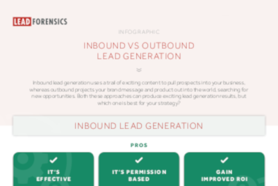 Lead Forensics Inbound Vs. Outbound Lead Generation