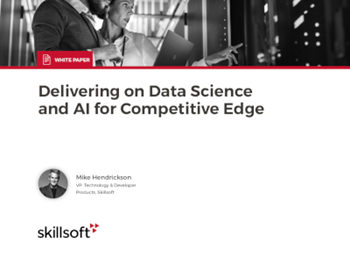 Skillsoft Delivering on Data Science and AI for Competitive Edge