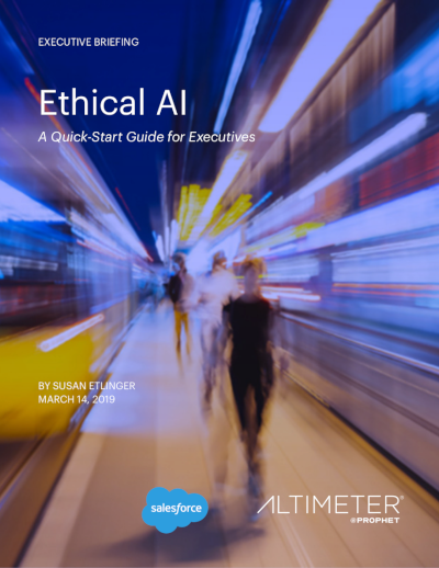 Salesforce Ethical AI: A Quick-Start Guide for Executives