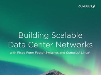 Cumulus Building Scalable Data Center Networks