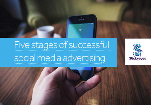 Stickyeyes 5 Stages of Successful Social Media Advertising