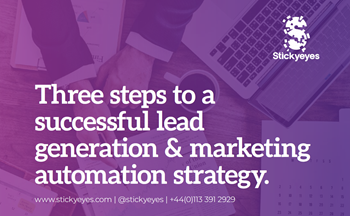 Stickyeyes 3 Steps to A Successful Lead Generation & Marketin