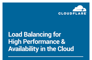 Load Balancing for High Performance & Availability in the Cloud