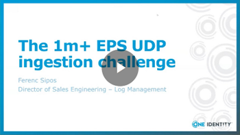 Syslog-ng The 1m+ EPS UDP ingestion challenge