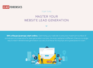 Lead Forensics Master Your Website Lead Generation