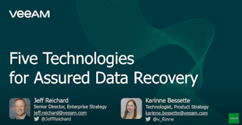 5 technologies for assured data recovery