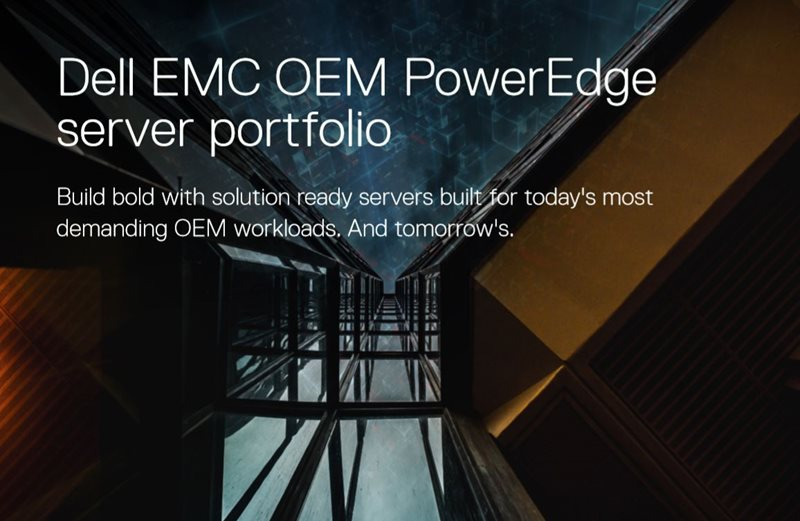 Dell EMC Dell EMC OEM PowerEdge Server Portfolio