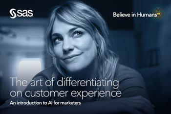 SAS Transforming the Customer Experience with AI