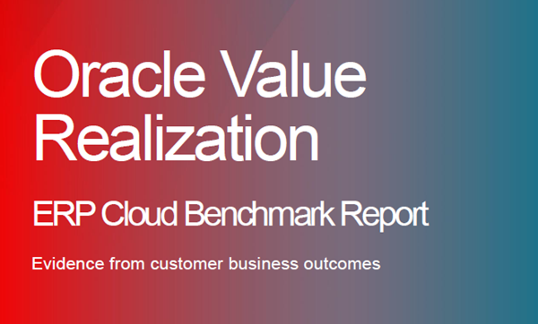 Oracle 2019 ERP Cloud Benchmark Report